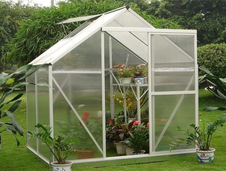 Invernadero casero hydro garden en color gris mini - Como hacer un invernadero pequeno ...