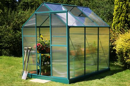 Invernadero casero hydro garden en color verde mini - Mini invernadero casero ...
