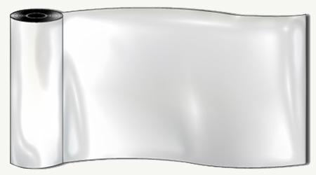 Hule blanco por metros