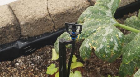 Micro aspersor vertical de 40 litros por hora boquilla for Sistema de riego vertical