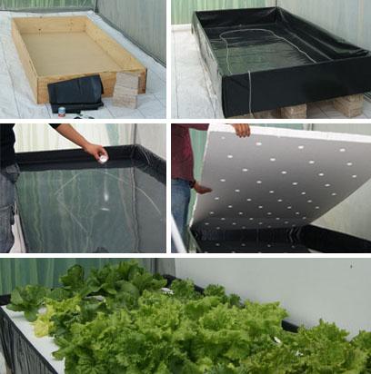 Gu a qu es el sistema de ra z flotante hydro for Materiales para la construccion de un vivero